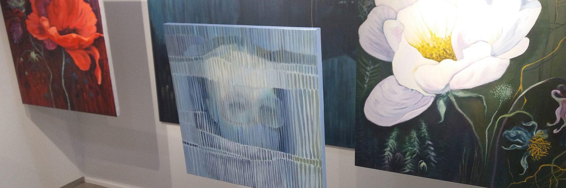 Galleria Sará näyttelykuva.